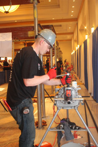 Jared Sutliff take gold in AFSA's 2015 National Apprentice Competition