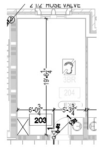 Figure 1. Sample room from Project 2.