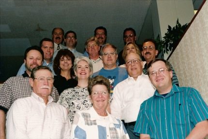 Members of HFSC in its early years, including Janet Knowles and Steve Muncy, representing AFSA.