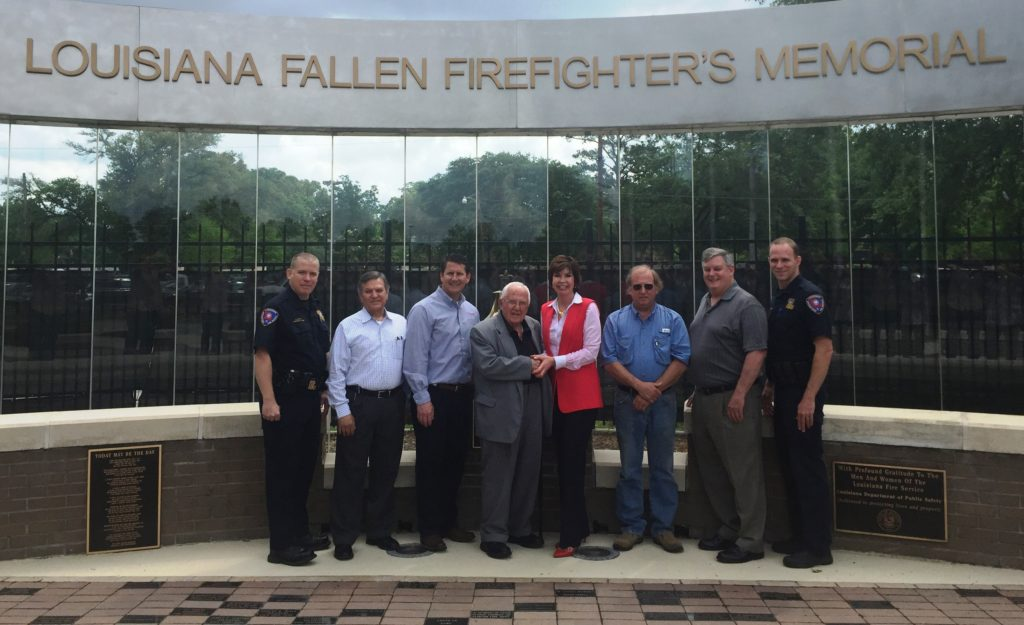 LFSA members have supported the Louisiana Fallen Firefighters Memorial with donations towards building its Memorial Stage and a canopy to cover the stage.